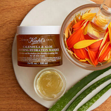 Calendula & Aloe Soothing Hydration Masque