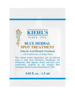 Blue Herbal Spot Treatment Sample