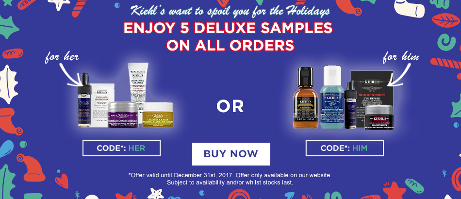 Kiehl's GWP December Offer